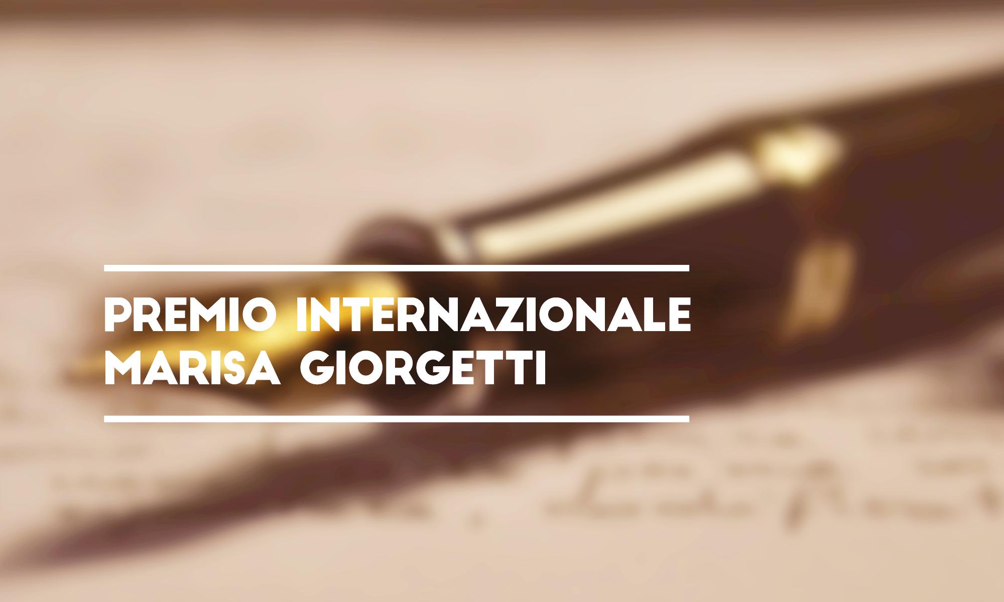 (Italiano) Premio Internazionale Marisa Giorgetti